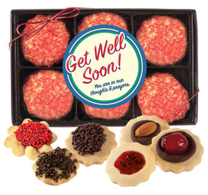 Get Well  Butter Cookie Gift Box