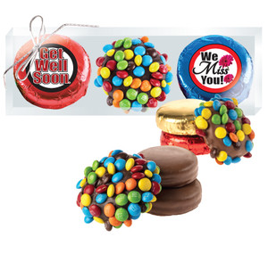 Get Well M&M  & Chocolate Oreo Trio
