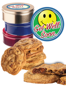 Get Well Butter Chocolate Chip Cookie Tin