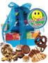 Get Well 3 Tier Tower of Treats - Blue