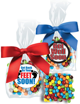 Get Well Chocolate Mini M&M Grahams