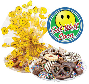 Get Well Smiley Face Cookie Assortment Supreme