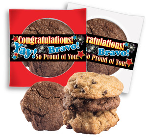 Congratulations 'Create-Your-Own'  Cookie Scone Singles W/ Message