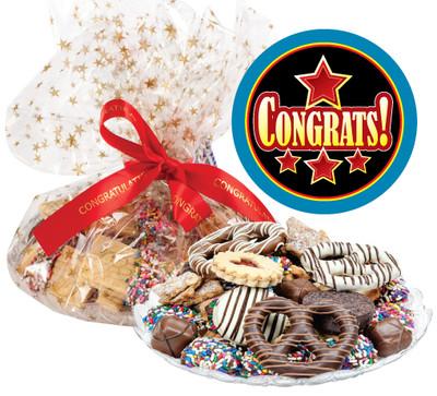 Congratulations Cookie Platter Supreme