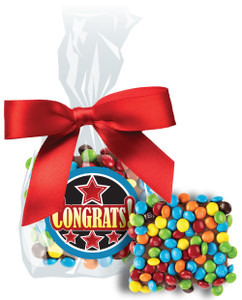 CONGRATULATIONS CHOCOLATE GRAHAMS W/ MINI M&Ms