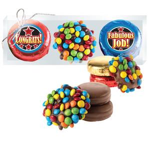 Congratulations M&M & Chocolate Oreo Trio