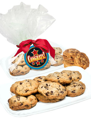 Congratulations Butter Chocolate Chip Cookies