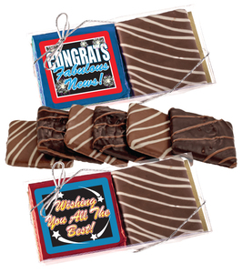 "CONGRATULATIONS ""COOKIE TALK"" CHOCOLATE GRAHAM DUO"