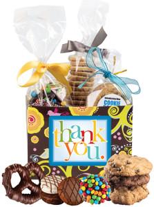 Thank You Basket Box of Gourmet Treats