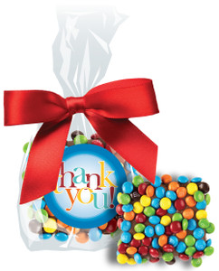 Thank You Chocolate Grahams W/ Mini M&Ms
