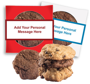Thank You 'Create-Your-Own'  Cookie Scone Singles W/ Message