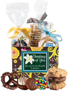 Thinking Of You Gift Basket Box Of Gourmet Treats - Male/ Female