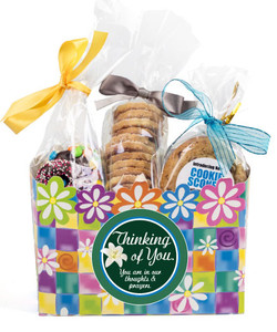 Thinking Of You Gift Basket Box Of Gourmet Treats