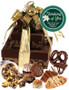 Thinking of You 3 Tier Tower of Treats - Brown & Gold