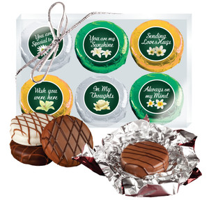 Thinking of You Cookie Talk 6pc Chocolate Oreo Box