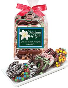Thinking of You Chocolate Pretzel Bag