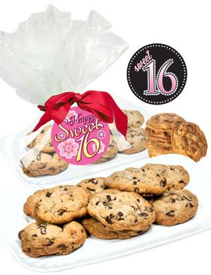 Sweet 16 Chocolate Chip Cookies