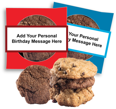 Birthday Custom Cookie Scone Singles