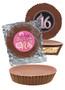 Sweet 16 Peanut Butter Candy Pie - Plain