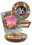 Sweet 16 Peanut Butter Candy Pie - M&M