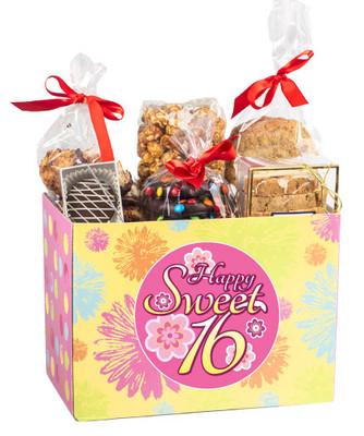 Sweet 16 Basket Box of Treats