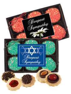 Sympathy/Shiva 12pc Butter Cookie Box