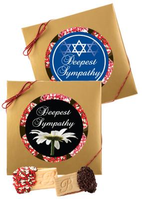 Sympathy/Shiva Raspberry Sandwich Butter Cookies