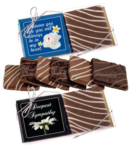 "Sympathy/ Shiva  ""Cookie Talk"" Chocolate Graham Duo"