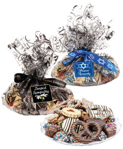 Sympathy/ Shiva  Cookie Assortment Supreme - Cookies, Pretzel & Candy