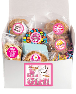 Baby Girl Box Of Treats