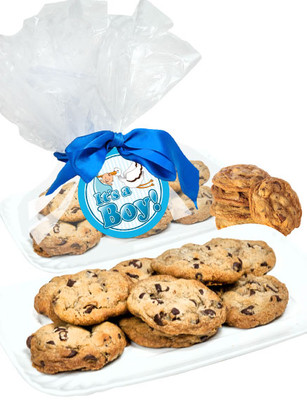 Baby Boy Butter Chocolate Chip Cookies