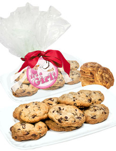 Baby Girl Chocolate Chip Butter Cookie Platter