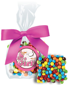Baby Girl Mini M&M Chocolate Graham