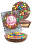 Baby Girl Peanut Butter Candy Pie - M&M