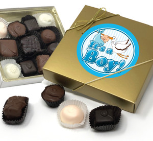 Baby Boy Chocolate Candy Box