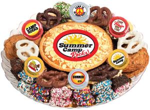 SUMMER CAMP COOKIE PIE & COOKIE ASSORTMENT PLATTER