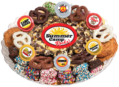 Summer Camp Caramel Popcorn & Cookie Assortment Platter