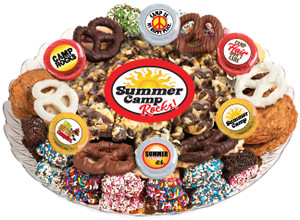 Summer Camp Caramel Popcorn & Cookie Assortment Platter