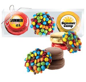 SUMMER CAMP M&M CHOCOLATE OREO TRIO