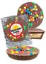 Summer Camp Mini Peanut Butter Candy Pie - M&M