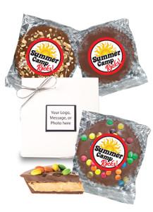 Summer Camp Mini Peanut Butter Candy Pie