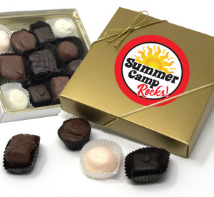 SUMMER CAMP CHOCOLATE CANDY BOX