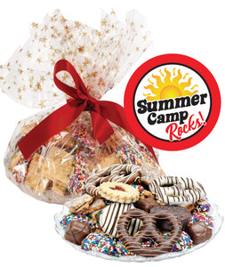SUMMER CAMP COOKIE ASSORTMENT SUPREME - Cookies, Pretzel & Candy