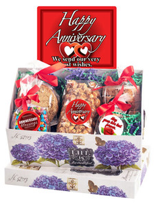 Anniversary Keepsake Boxes Of Gourmet Treats
