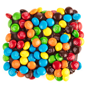Chocolate Graham with Mini M&Ms