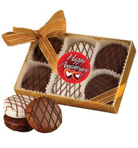 Anniversary Chocolate Drizzled Oreo® 6 Pk.