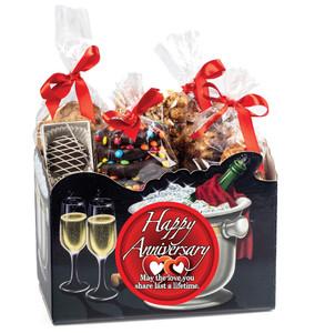 Anniversary Box Of Gourmet Treats