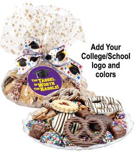 BACK-TO-SCHOOL COOKIE ASSORTMENT SUPREME - Cookies, Pretzel & Candy