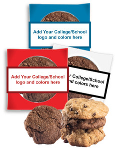 Back-To-School 'Create-Your-Own'  Cookie Scone Singles W/ Message