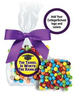 BACK-TO-SCHOOL CHOCOLATE GRAHAMS W/ MINI M&Ms